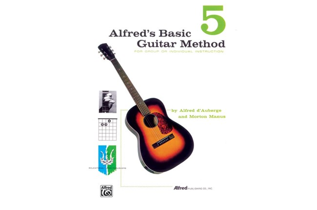 Alfred's Basic Guitar Method 5, Cover