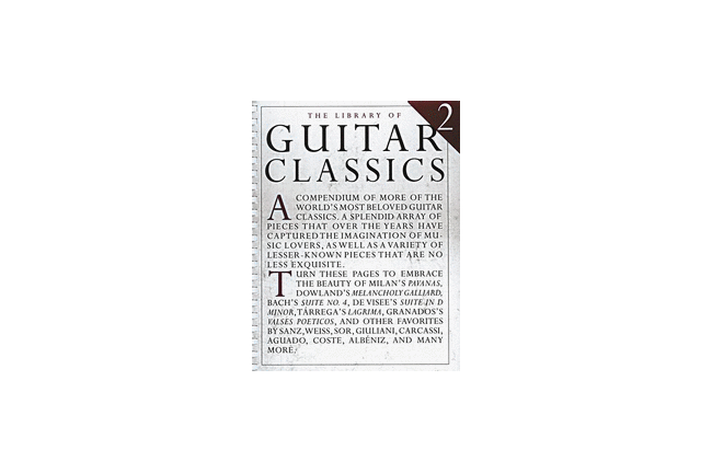 Library of Guitar Classics 2, Cover