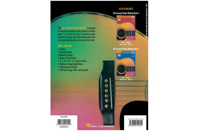 hal leonard guitar method book 1 heid music. Black Bedroom Furniture Sets. Home Design Ideas