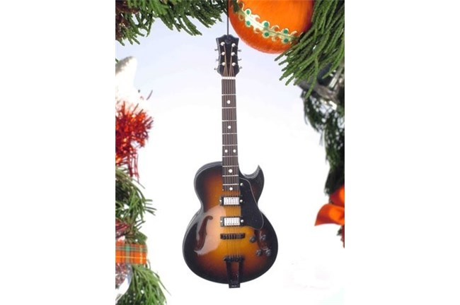 Broadway Gifts Jazz Burst Guitar Ornament