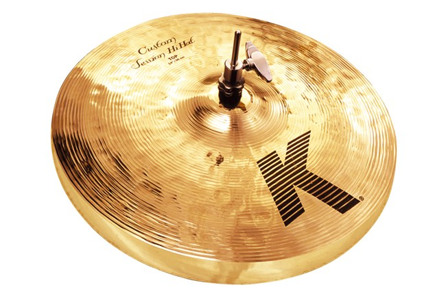 "Zildjian 14.5"" K Custom Hybrid Hi-Hat is a versatile cymbal that is great for live playing."