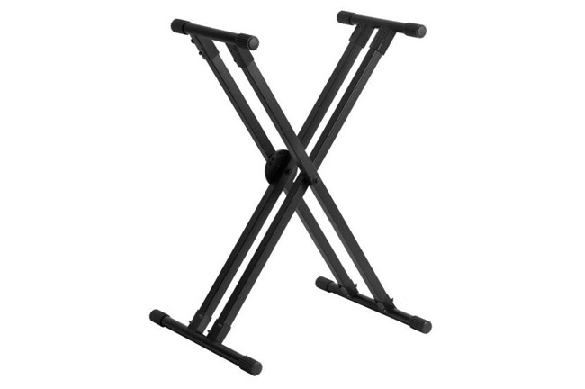 On-Stage Lok-Tight Pro Double-X Keyboard Stand