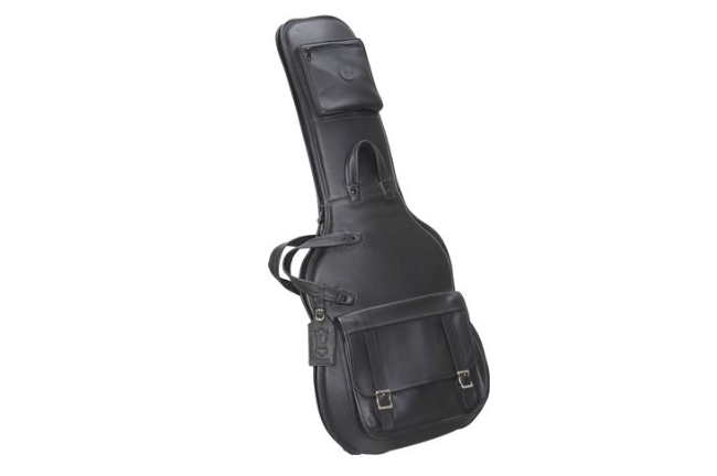 Levy's LM18-BLK Leather Electric Guitar Gig Bag