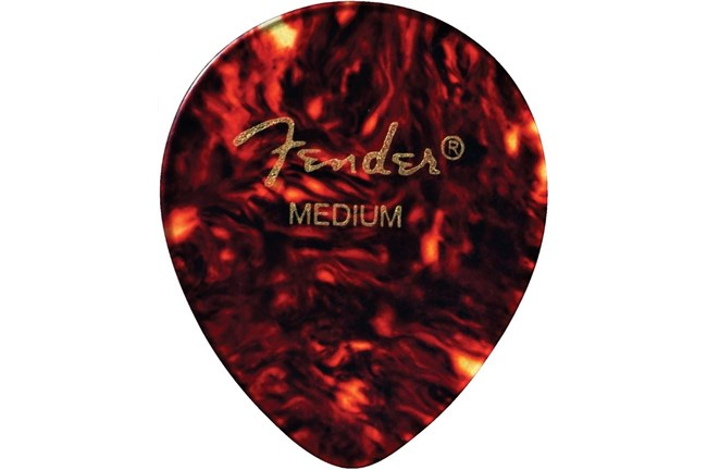 Fender 347 Shape Classic Celluloid Picks (12 Pack)