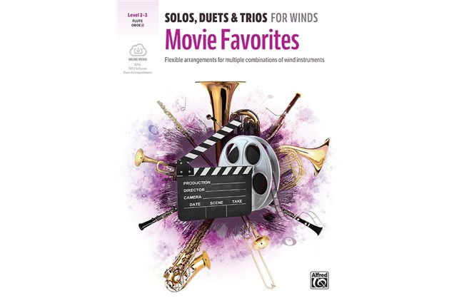 Solos, Duets & Trios for Winds: Movie Favorites