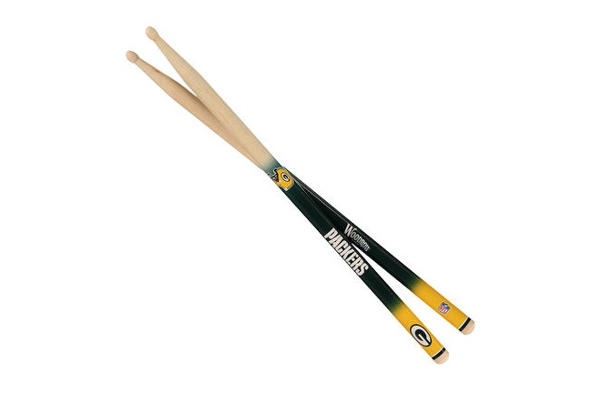 Green Bay Packers 5A drum sticks