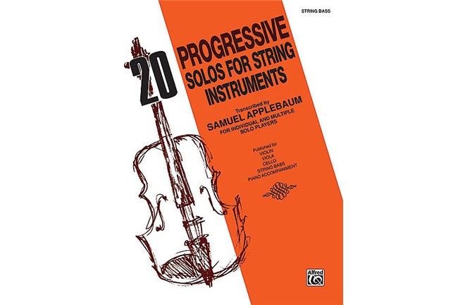 2411B10 C1, 20 Progressive Solos for Str