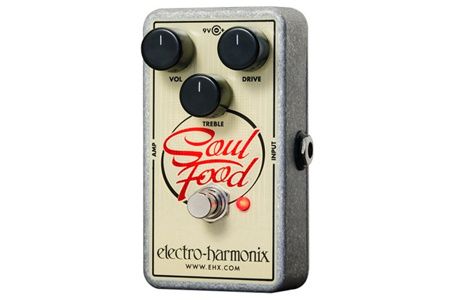 Electro-Harmonix Soul Food Overdrive Guitar Pedal Heid Music