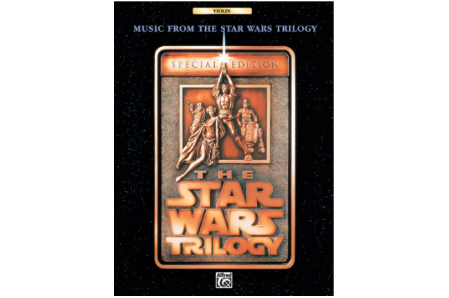 Music from the Star Wars Trilogy - Violin