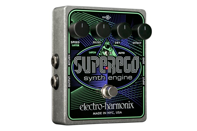 Electro-Harmonix Superego Synth Pedal Heid Music