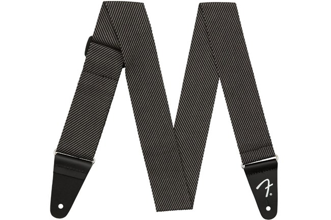 "Fender 2"" Modern Tweed Strap - Gray/Black"