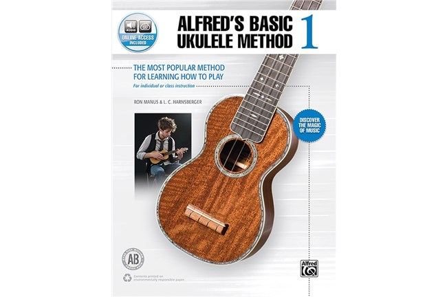 Alfreds Basic Ukulele Method 1