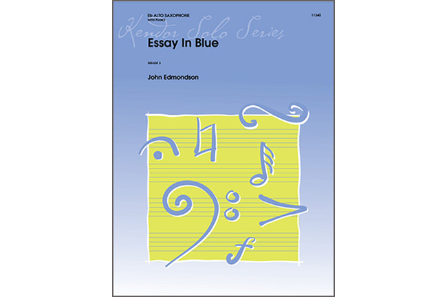 Essay in Blue
