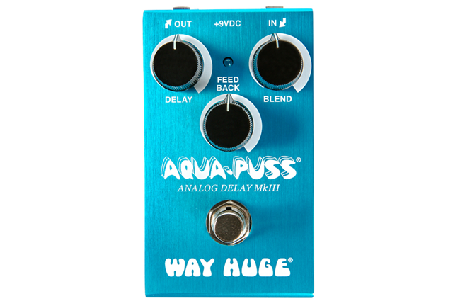 Light Blue Aqua-Puss Guitar Delay