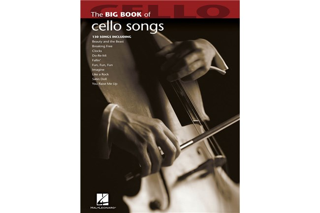 Big Books of Cello Songs