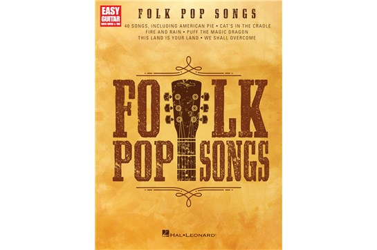Folk Pop Songs Easy Guitar   Heid Music