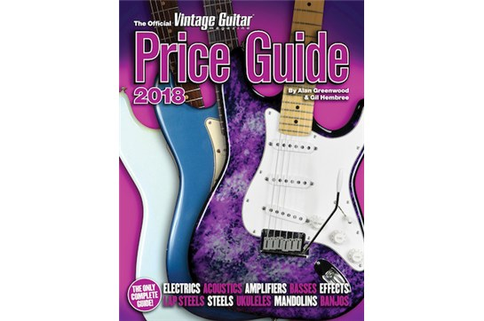 Hal Leonard The Official Vintage Guitar Magazine Price Guide 2019