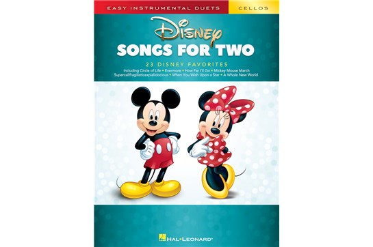 Disney Songs For Two Cello