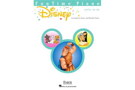 FunTime Piano Disney (Level 3A-3B)