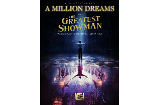 "A Million Dreams from ""The Greatest Showman"" (Violin)"