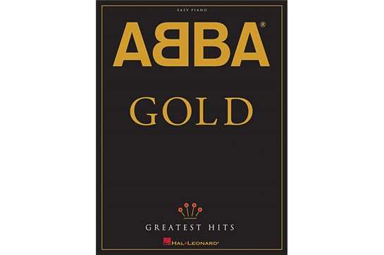ABBA GOLD GREATEST HITS EASY PIANO SHEET MUSIC SONG BOOK