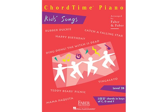 ChordTime Piano Kids Songs (Level 2B)