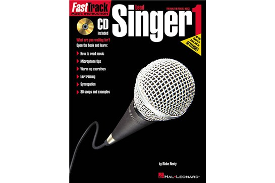 Fast Track Vocal singer Method Book Heid Music