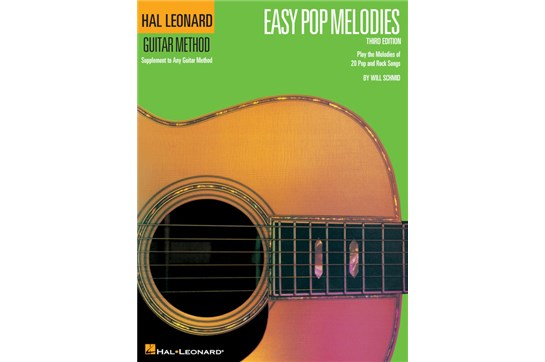 Hal Leonard Easy Pop Melodies Guitar Method