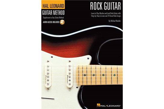 Hal Leonard Guitar Method Rock Guitar w/Audio