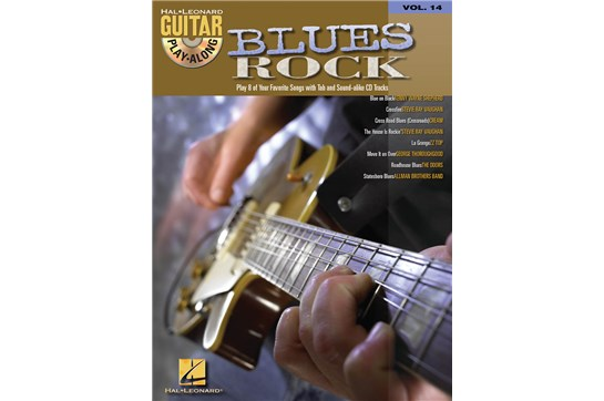 Blues Rock Guitar Play-Along Volume 14
