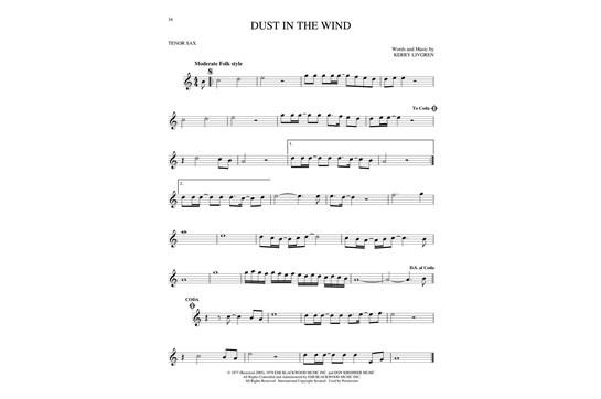 Essential Songs for Tenor Sax | Heid Music