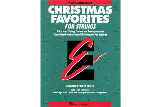 Essential Elements For Strings Christmas Favorites