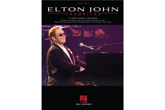 Elton John Favorites - Piano Solo