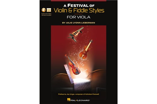 A Festival of Violin & Fiddle Styles for Viola