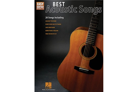 Best Acoustic Songs easy guitar Heid Music
