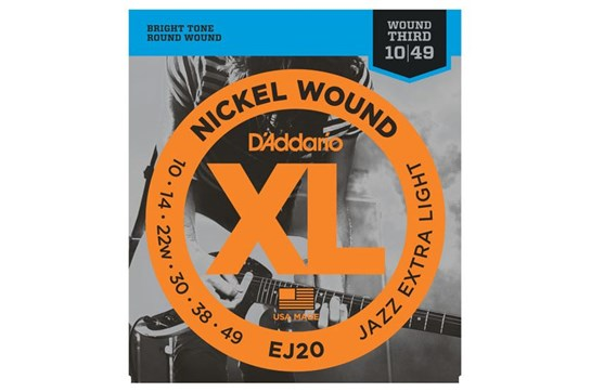 D'Addario EJ20 Nickel Wound
