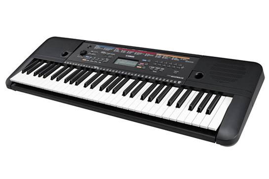 Yamaha psr e263 61 key digital keyboard heid music for Yamaha piano keyboard 61 key psr 180