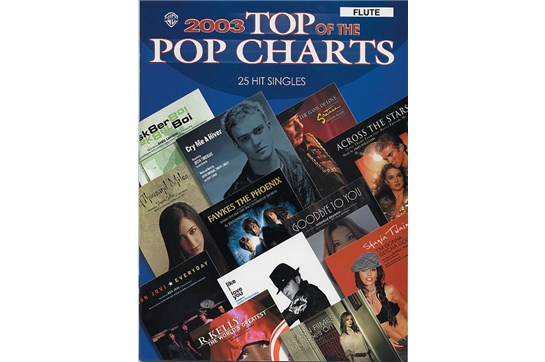 2003 Top Pop hits for flute