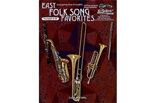 Easy Folk Song Favorites for Trumpet