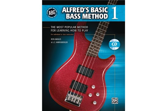 Alfred's Basic Bass Method 1 w/CD