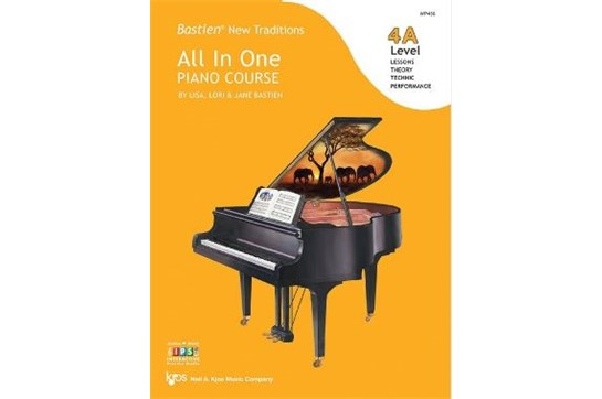 Bastien New Traditions: All In One Piano Course, Level 4A