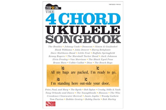 The 4-Chord Ukulele Songbook - Strum and Sing Series | Heid Music