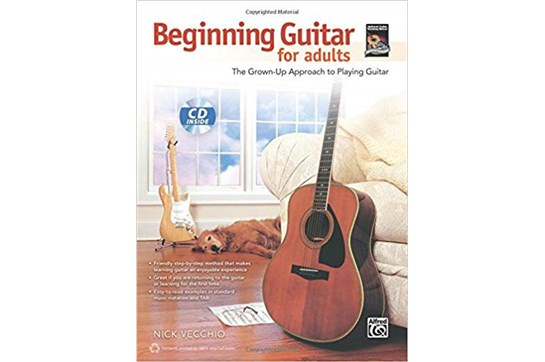 Beginning Guitar for Adults w/CD