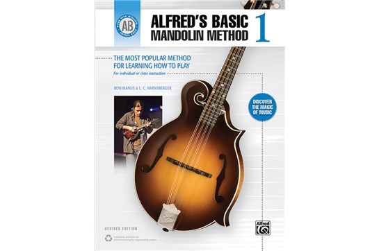 Alfreds Basic Mandolin Method 1 Revised