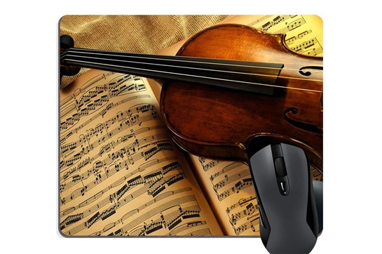 AIM Violin Mouse Pad
