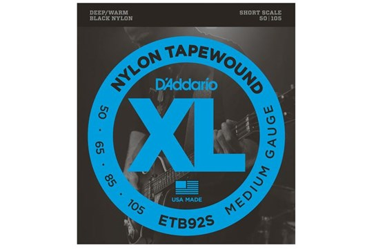 D'Addario ETB92S Tapewound Bass Strings