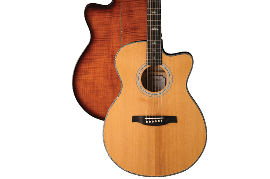 prs se angelus a50e acoustic electric guitar natural heid music. Black Bedroom Furniture Sets. Home Design Ideas