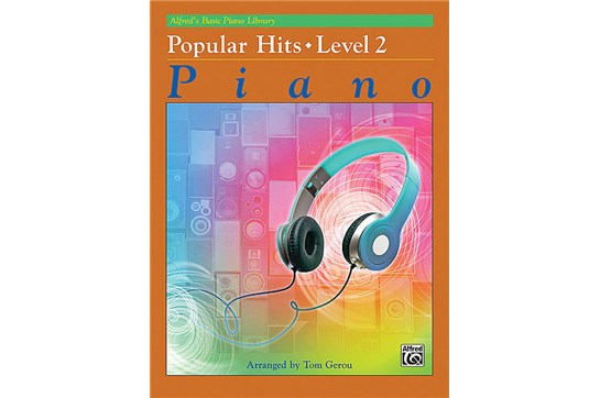 Alfred's Basic Piano Library Popular Hits, Book 2 Piano Book