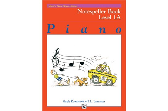 Alfred's Basic Piano Library: Notespeller Book 1A   Heid Music