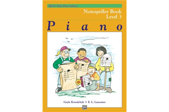 Alfred's Basic Piano Library: Notespeller Book 3 | Heid Music
